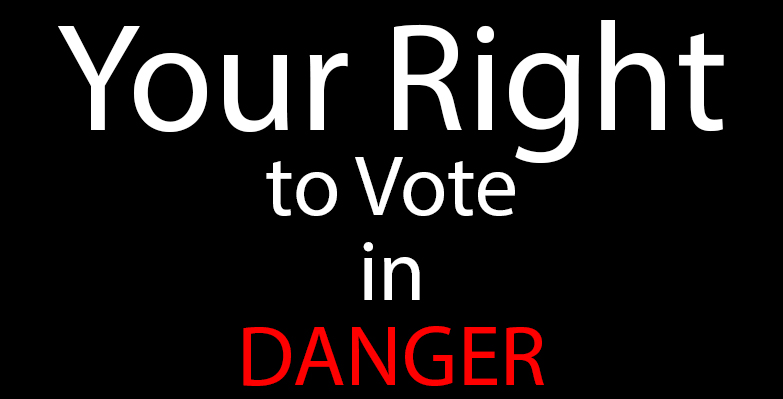 Voting rights act in danger?