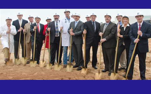 Good Shepherd Health System breaks ground