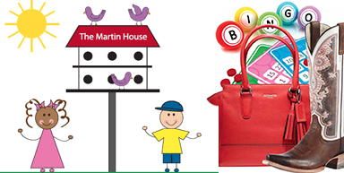 Martin House says it's Boots, Bags and Bingo