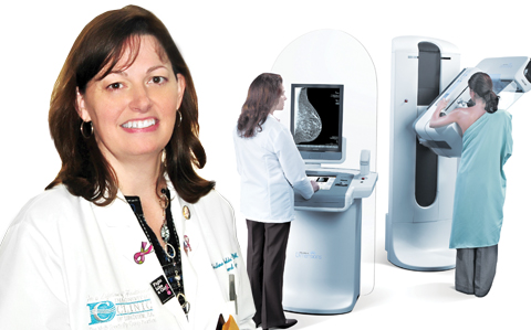 Breast care: LRMC unviels new mammogram technology