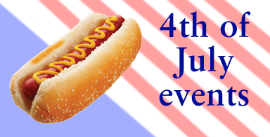 Hot dog, it's the Fourth of July: Fireworks show adds concert, festival, hot dog eating contest