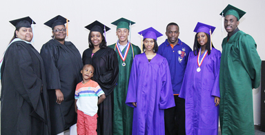 Local churches, families celebrate graduates