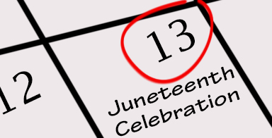 Juneteenth Celebration scheduled