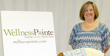 Wellness Pointe awarded: Project Linus distributes blankets to mothers