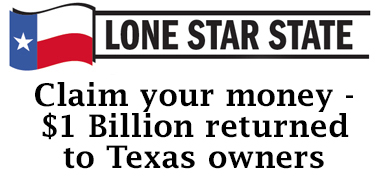 Lone Star State: Claim your money – $1 Billion returned to Texas owners