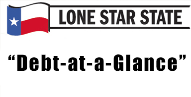 "Lone Star State: ""Debt-at-a-Glance"" Easier way to find information regarding state and local government debt"