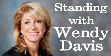 Standing with Wendy Davis: A champion for public education