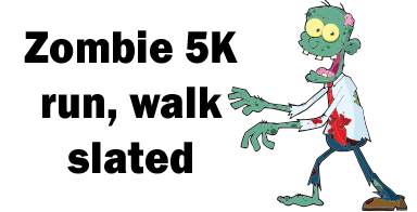 Zombie 5K run, walk slated