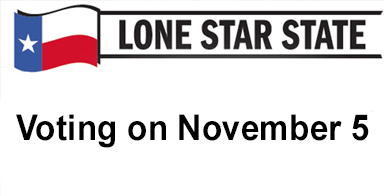 Lone Star State: Voting on November 5-Here's what you need to know