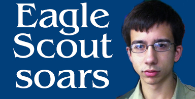Eagle Scout soars