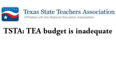 TSTA: TEA budget is inadequate