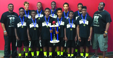 Tyler Spurs 13U Wins Big