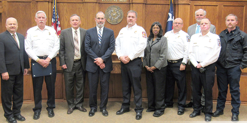 Firefighters Honored for Dedication to Smith County Residents