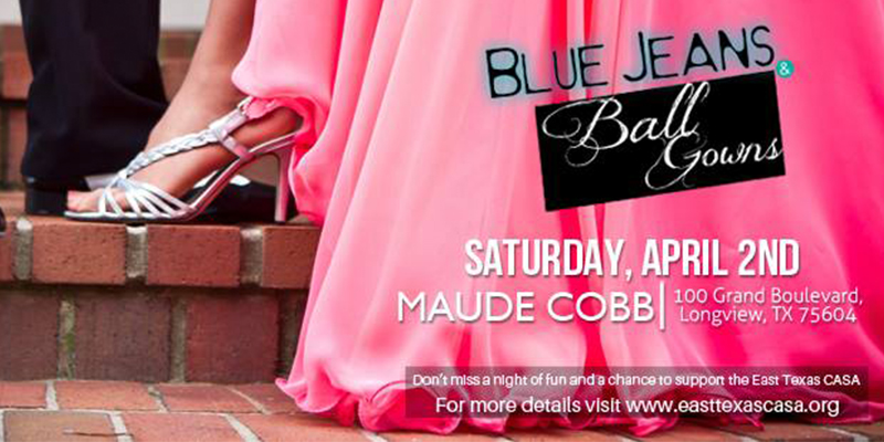 Blue Jeans and Ball Gowns Toasts CASA