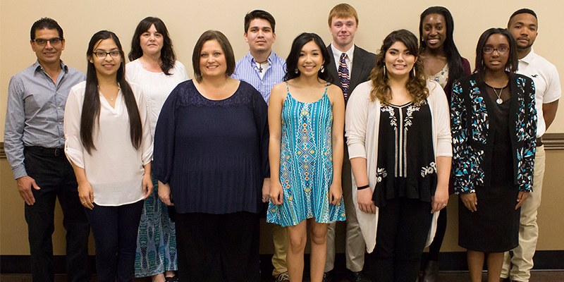 Kilgore College inducts 34 students into National English Honor Society