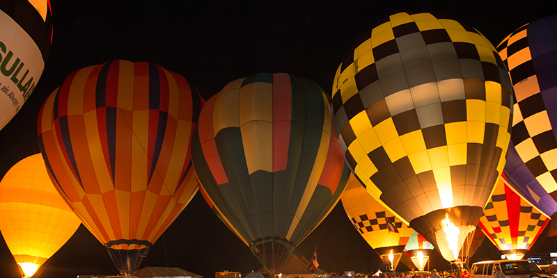 The Soaring Balloons