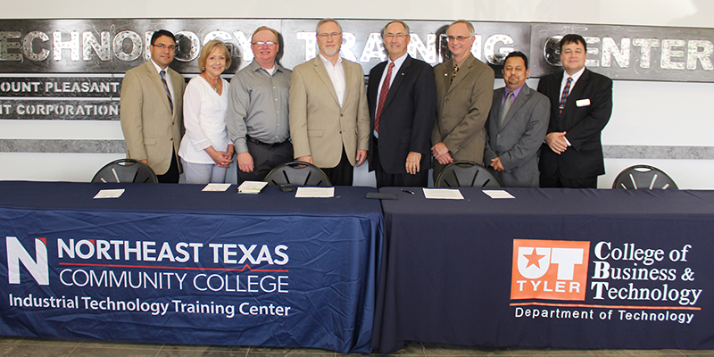 UT Tyler Celebrates Partnership  with Northeast Texas Community College