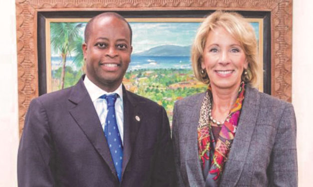 Education Secretary DeVos Visits Howard University