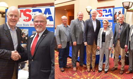 U.S. Senator John Cornyn (R-TX) address Texas State Rifle Association
