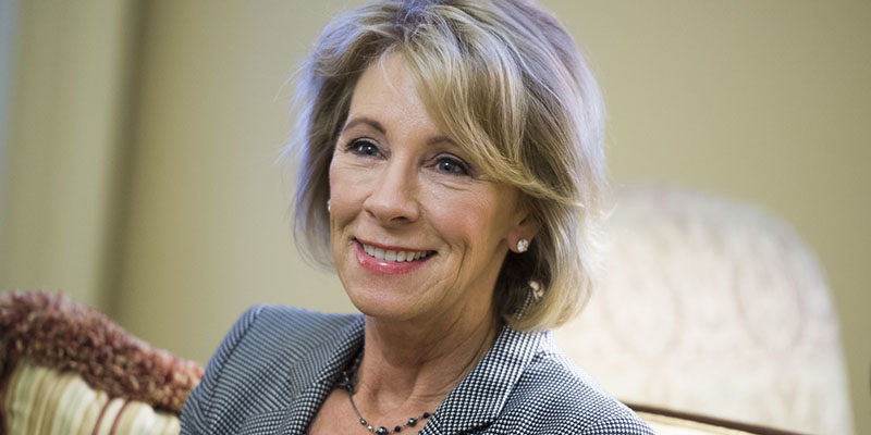 Secretary of Education Betsy DeVos Delivers on Promise of Year Round Pell and Increased Flexibility for Students