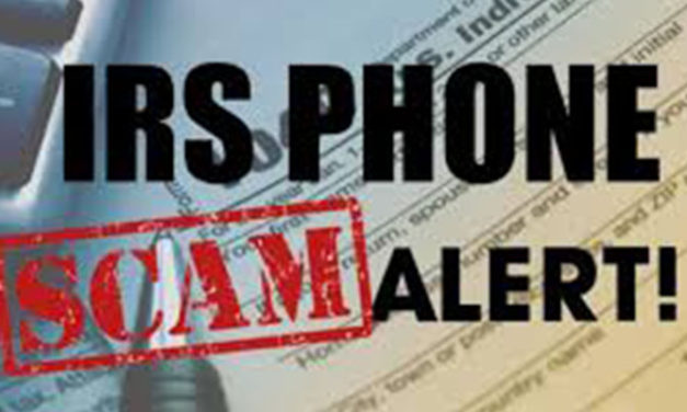 Beware of Callers Posing as the IRS in Tax Scam