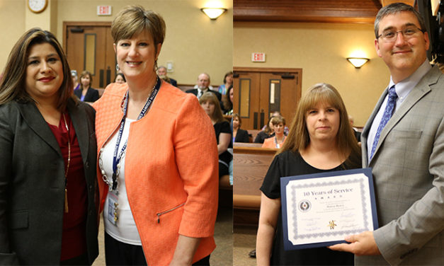 Smith County Recognize Employees