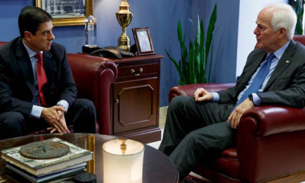 Cornyn Meets with Mexican Ambassador to U.S.