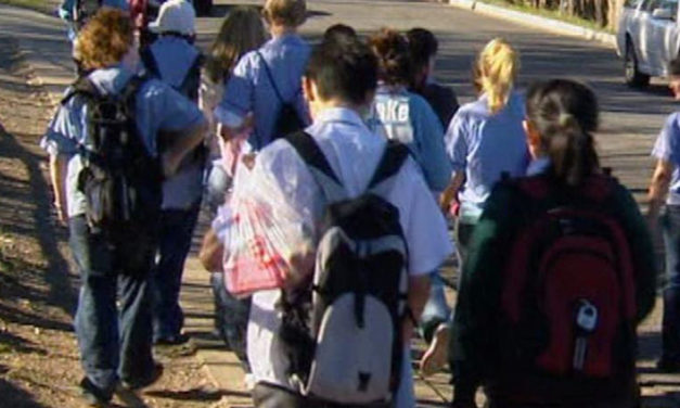 BILL WOULD PROTECT KIDS WALKING HOME FROM SCHOOL