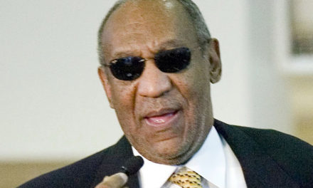 Bill Cosby is blind.