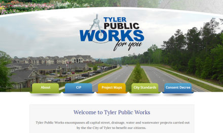 City of Tyler introduces new website for public works projects