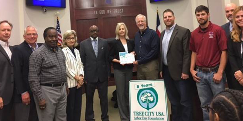 Tyler receives national recognition for urban forest