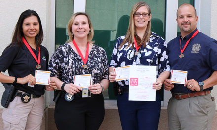 Smith County Employees  Win Lighten Up East Texas  Team Award
