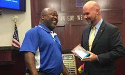 Tyler Council recognizes employee with exceptional service award