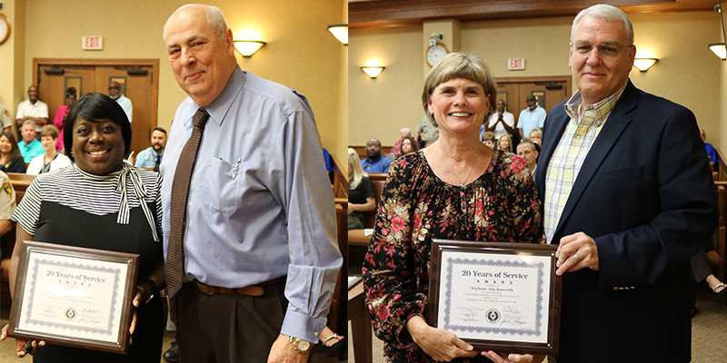 Smith County Employees Recognized for 165 Years