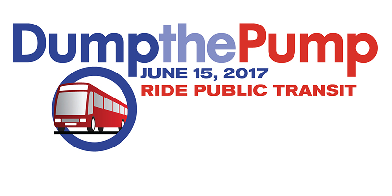 Dump the Pump Day touts public transportation