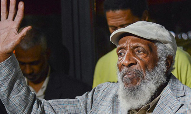 Comedian Dick Gregory passes away