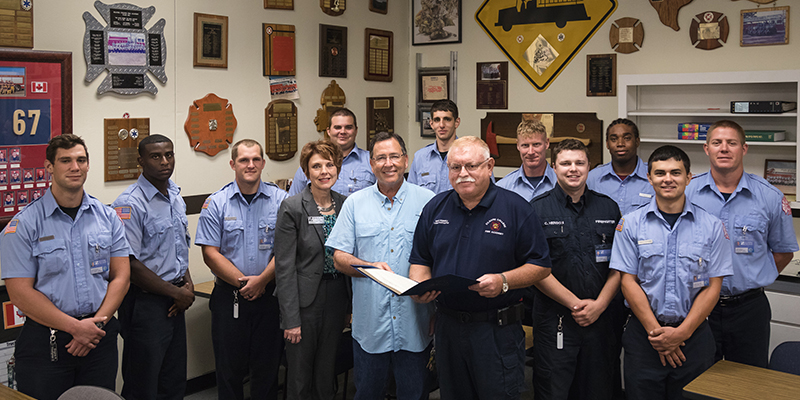 Texas House of Representatives adopts resolution in honor of KC Fire Academy's 100th class