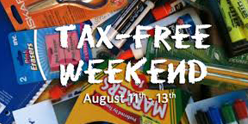 Texas Sales Tax Holiday This Weekend — Aug. 11-13