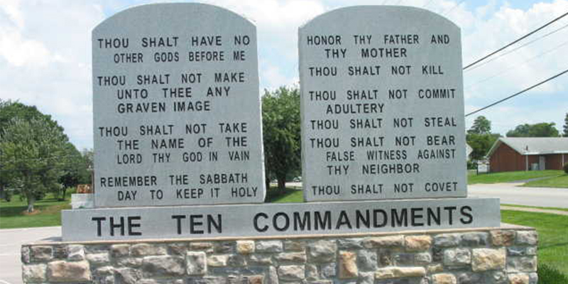 AG Paxton Leads 23-State Coalition in Amicus Brief Defending  Displays of the Ten Commandments