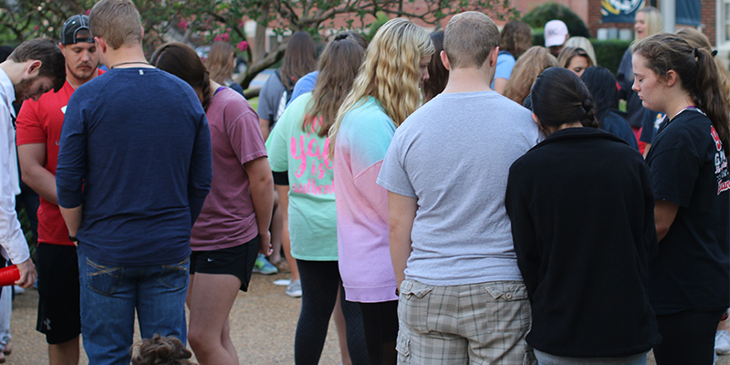 ETBU unites in prayer through See You at the Pole