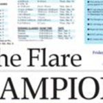 The Flare garners Sweepstakes