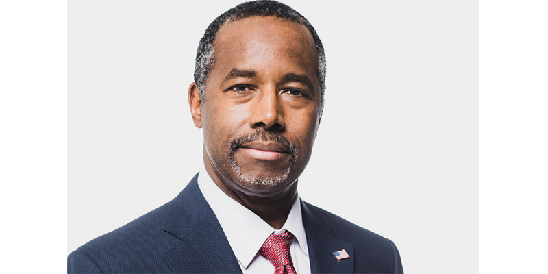 LETTER FROM HUD SECRETARY BEN CARSON TO THE PEOPLE OF TEXAS ON HARVEY RELIEF