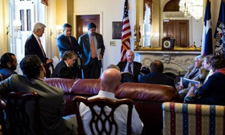 Cornyn Hosts Meeting with Bipartisan Texas Delegation on Harvey