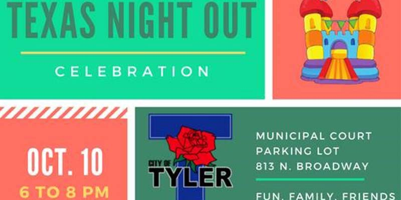 Texas Night Out Celebration at Municipal Court Slated