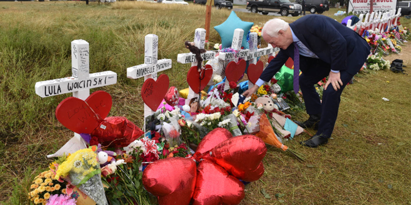 Cornyn Speaks to First Baptist Congregation, Visits Memorial in Sutherland Springs