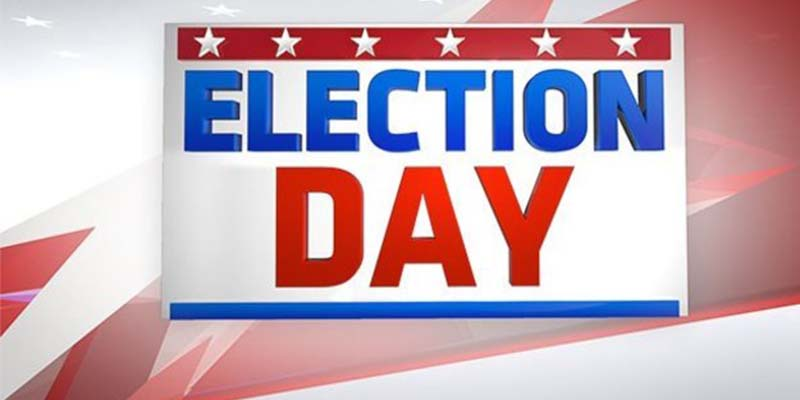 Election Day is Tuesday