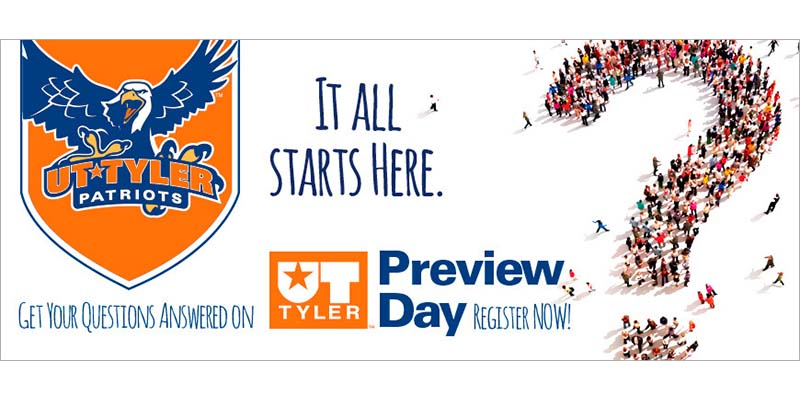 Prospective Students to Experience The University of Texas at Tyler