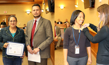 Smith County Employees  Recognized