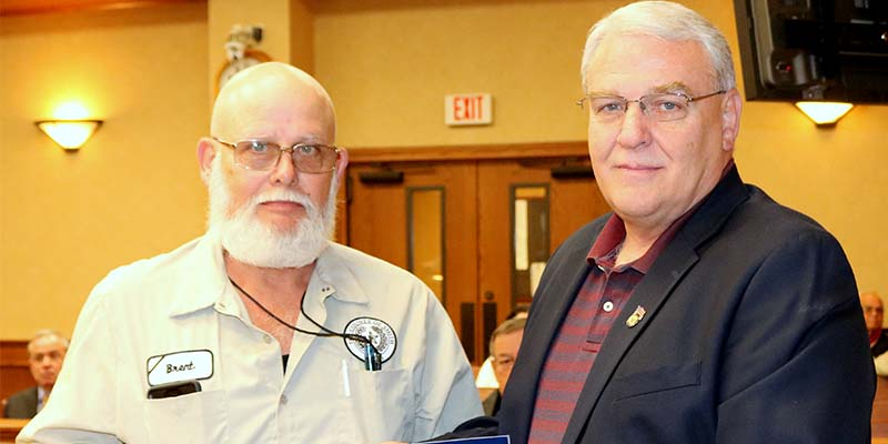 Smith County Employee Recognized  for 25 Years of Service