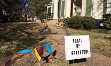 Trail of Gratitude on display at Goodman Museum
